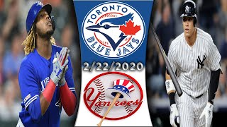 Toronto Blue Jays vs New York Yankees | Spring Training Game Highlights