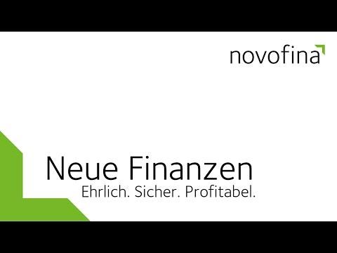 Novofina. Begründer Neuer Finanzen.