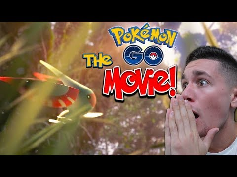 "REACTING to the POKÉMON GO ""MOVIE TRAILER"""