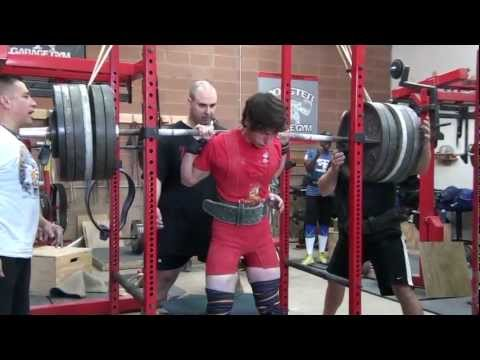 POWERLIFTING:  Training at MONSTER GARAGE GYM Image 1