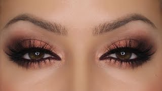 Copper Eyes - Zoeva Rose Golden Palette | Valentine's Day MakeUp | Shonagh Scott | ShowMe MakeUp