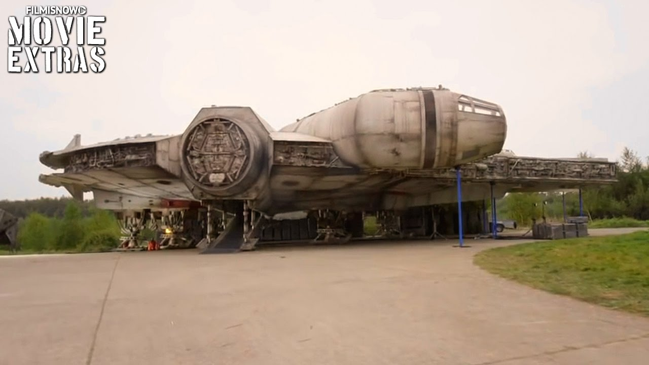 Star Wars: The Force Awakens 'Boarding the Millenium Falcon' Featurette [Blu-Ray/DVD 2016]