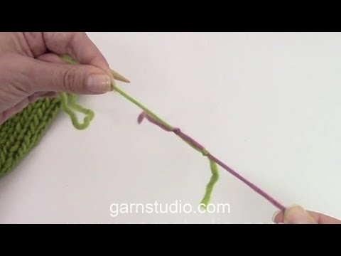 How to join new yarn with a double knot