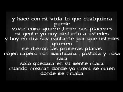 Don Omar - Bandolero [lyrics] video