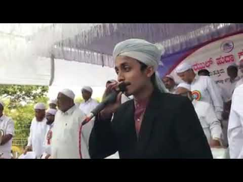 Muennuddeen bangalore welcome song by AP usthad