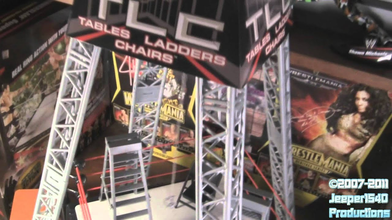 Wwe Tables Ladders And Chairs Toys Tables/ladders/chairs Tlc