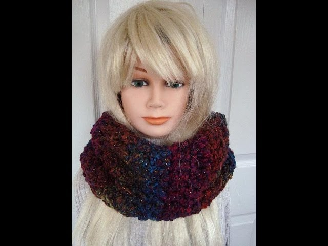 crochet pattern,  CHUNKY COWL, how to diy, winter scarf,  circle scarf, women's, girls