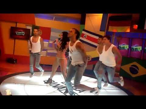 Diosa Canales en La Bomba Televen con su tema