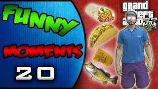 GTA 5: Grenade Rumble, Secret Handshake, Barrack Skatepark, The Taco Farmer (Comedy Gaming & Skits)