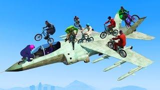 BIKES VS BRUTAL JETS! (GTA 5 Funny Moments)