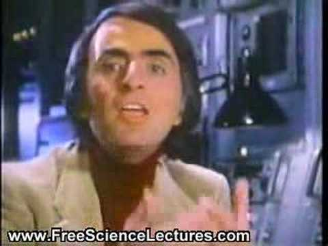 Carl Sagan Explains the Drake Equation
