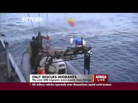 Italy Rescues African Migrants