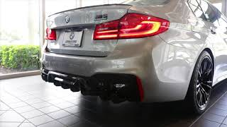 2019 BMW M5 Competition Cold Start || Exhaust Notes || The Ultimate M5