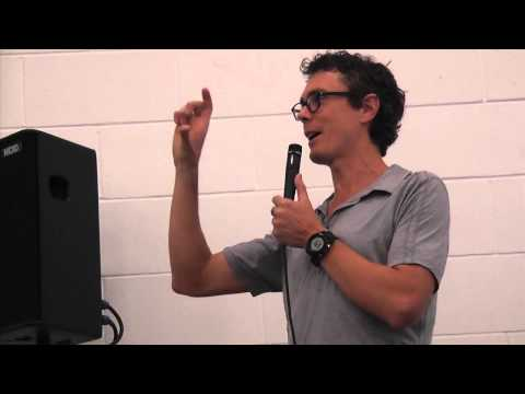 Scott Jurek --  Food as Fuel - speaking live at VegFest London on 6 October 2013