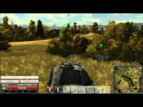 Геймплейный ролик World of Tanks #1