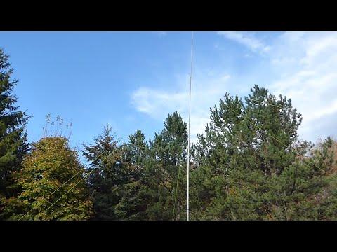 A 50 Foot HF Vertical Antenna