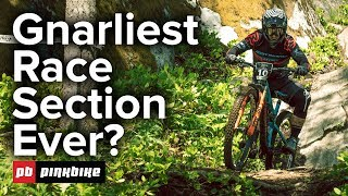 Gnarliest Enduro Race Section Ever?