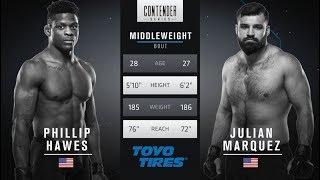 FREE FIGHT | Marquez Lands Devastating Head Kick | DWTNCS Week 4 Contract Winner - Season 1