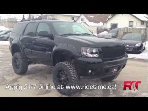 Lifted 2012 Chevrolet Tahoe LT | Winnipeg MB | Custom Trucks Canada