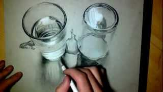 Crazy Realistic Drawing 3d - Water/glass 2