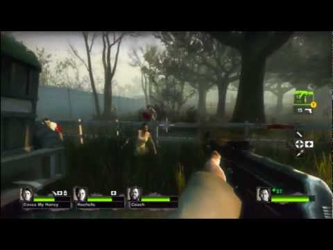 Left 4 Dead 2: Swamp Fever CoOp Let's Play -  Part 2 [Game Play and Commentary] xbox360 PC Music Videos