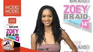 ZOEY BRAID STRAIGHT 14""
