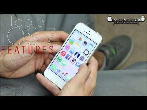 Top 5 iOS 7 Features