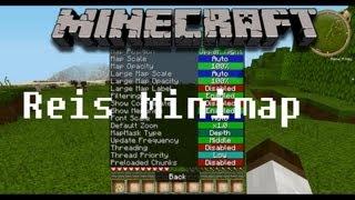 Minecraft Mod: Rei's Minimap Mod 1.4.5 installieren [German/HD]
