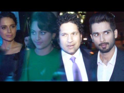 Shahid Kapoor, Sonakshi Sinha, Kangana Ranaut, Sachin Tendulkar Attend The Launch Of BMWi8