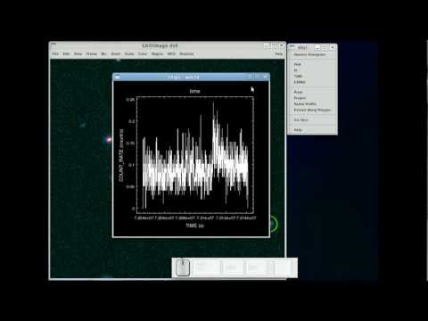 Extracting Spectra, Light Curves, and Radial Profiles within ds9