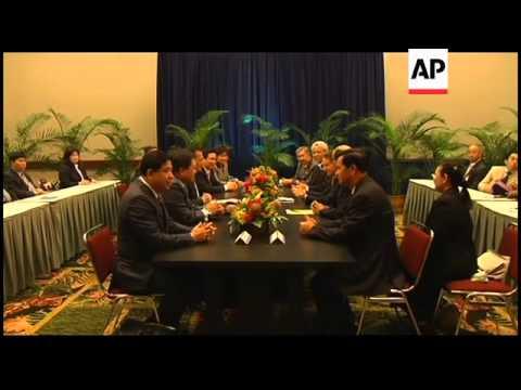 US treasury secretary Geithner hosts meeting of finance chiefs
