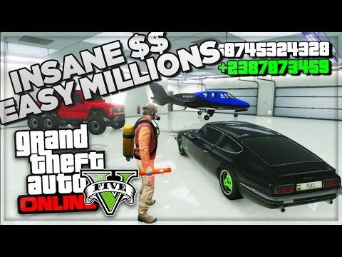 Gta 5 Online How To Make Money Fast Online - Best Online Cash Farm Method - (gta V Gameplay) video