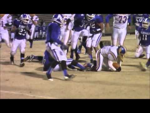 South Robeson High School Football vs Albemarle State Playoffs