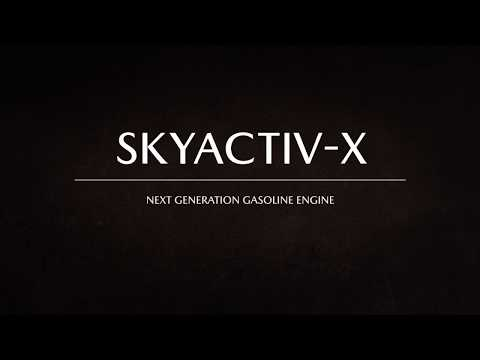 Next Generation Gasoline Engine SKYACTIV-X: SPCCI / 次世代ガソリンエンジンSKYACTIV-X: SPCCI