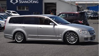 2005 Nissan Stagea 350 AXIS GT  3500cc V6 Tiptronic Automatic