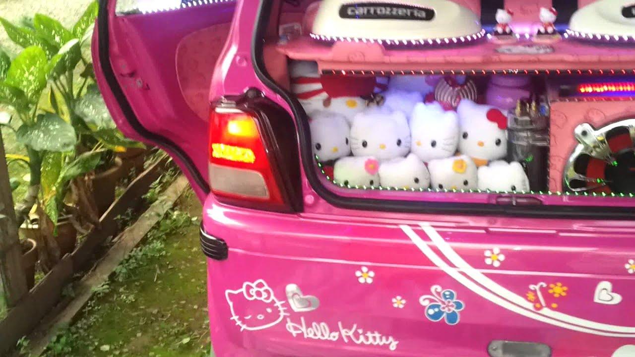 Hello Kitty Car Sticker Malaysia Hello Kitty K-car Malaysia