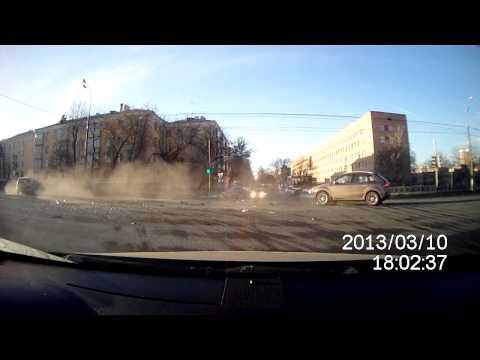 ДТП. Подольск. Кирова — 50л ВЛКСМ. 10.03.2013