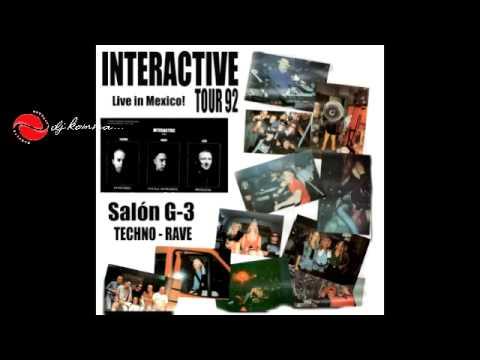 INTERACTIVE Tour 92 @ México / Salón G-3 / Techno-Rave