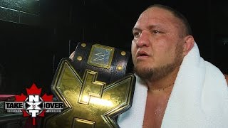 New NXT Champion Samoa Joe will never stop: NXT Exclusive, Nov. 19, 2016