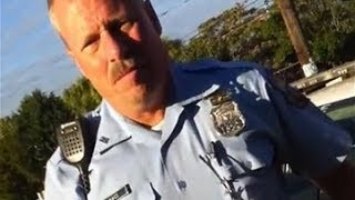 Racist Cop Harassing Pedestrians in Viral Stop and Frisk Video  10/15/13