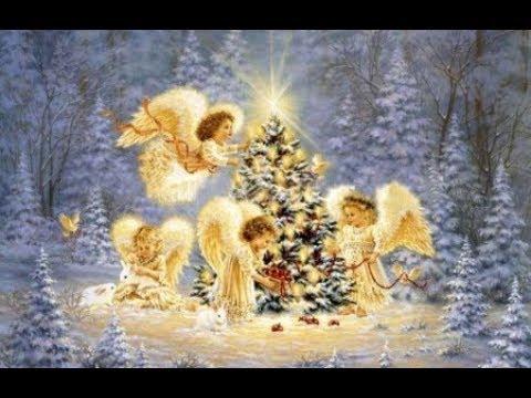 ❉ Яркая звездочка ❆ В целом мире торжество наступило РОЖДЕСТВО ❆ Новогодние песни для малышей