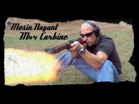 Mosin Nagant M44 7.62x54R Carbine Review (HD)