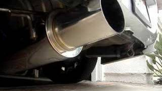 APEXi N1 exhaust on WRX - without ATS Silencer