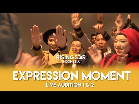 download lagu Expression Moment Live Audition 1 & 2  Rising Star Indonesia 2016 gratis