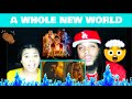 """Lagu ZAYN, Zhavia Ward - A Whole New World (End Title) (From """"Aladdin""""Official Video) REACTION!"""