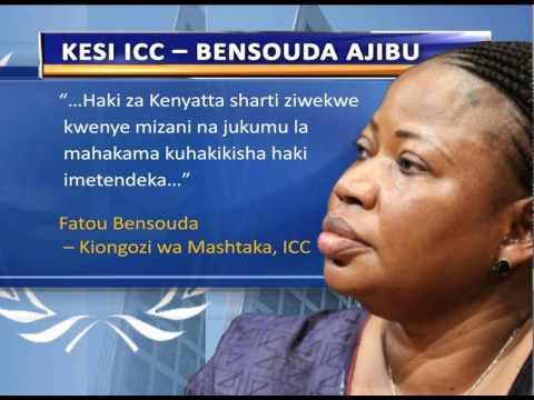 Bensouda Na Kesi Za ICC