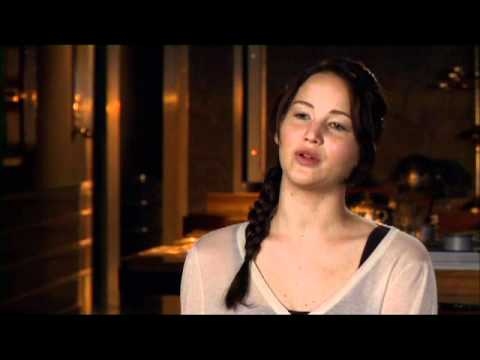 The Hunger Games cast interview: Jennifer Lawrence