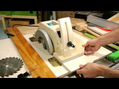 Homemade table saw, part 1 Music Videos