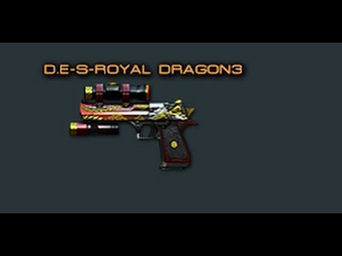 Cross Fire China || Desert Eagle-S Royal Dragon 3 [Review]!