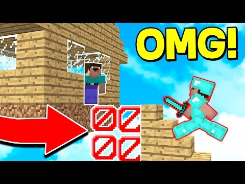 INVISIBLE MINECRAFT BLOCK TROLL! Minecraft Trolling